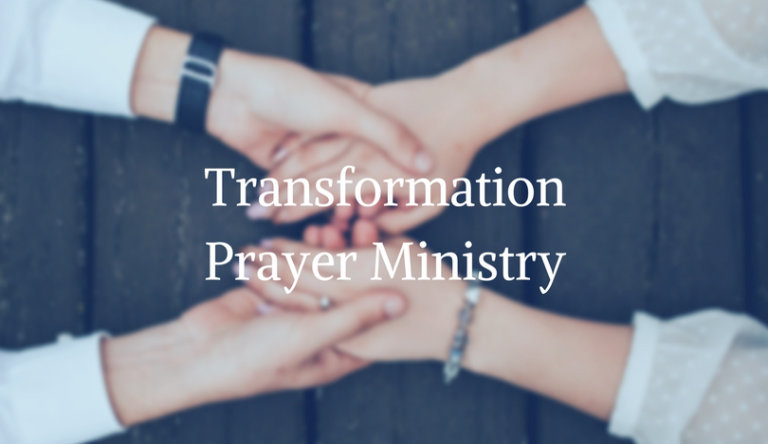 Transformation Prayer Ministry Events Page